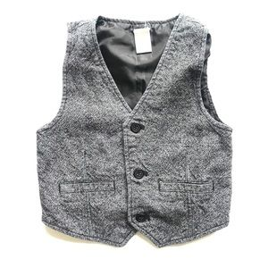 Handsome Tweed Vest Size 5-6